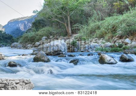 Tropical Canyon River