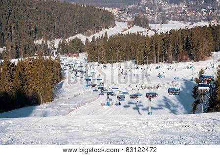 Kotelnica Bialczanska Ski Resort