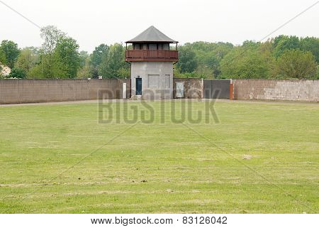 Mirador of Nazi concentration camp