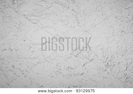 White Decoration Cement Wall