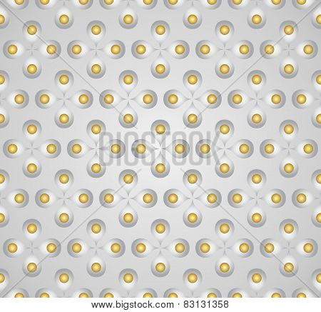 Silver Sweet Flower And Pollen On Pastel Background