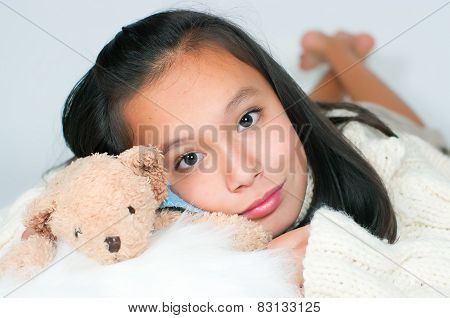 The Beautiful Asian Girl