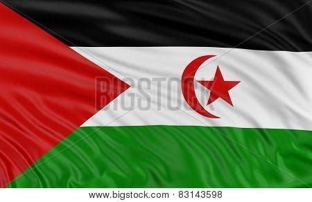 3D Flag of Western Sahara