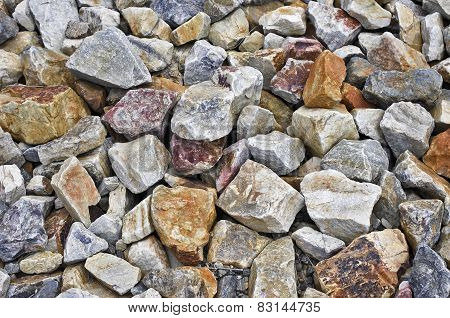 Rough Granite Boulders