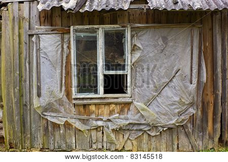 Rotten Window Of The European Slums