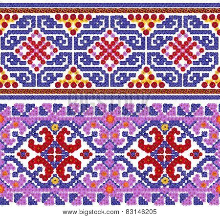 National Pattern For The Ukrainian Shirt
