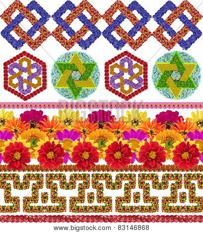Simple National  Decorative Patterns