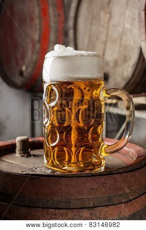 Large Beer Glass