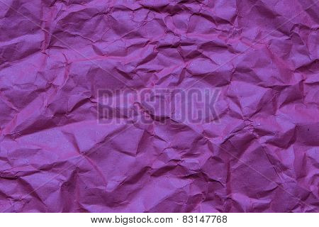 Purple Crumpled Paper, For Backgrounds