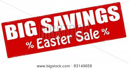 Big Savings Easter Sale