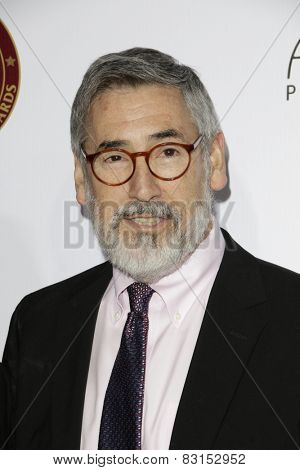 LOS ANGELES - FEB 14: John Landis at the Make-Up Artists & Hair Stylists Guild Awards at the Paramount Theater on February 14, 2015 in Los Angeles, CA