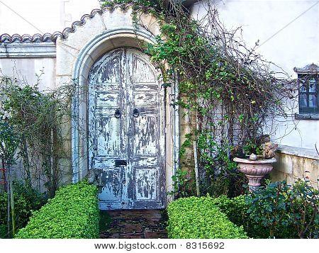 Rustic Entrance