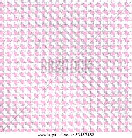Checkered Tablecloth Pattern Rose - Endlessly