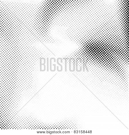 Abstract Grain Dotted Noise Background