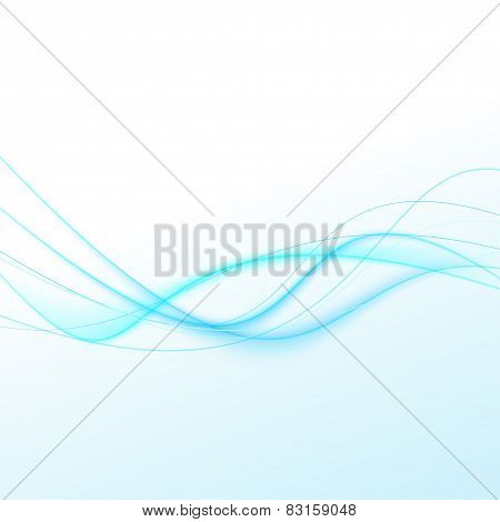 Abstract Glow Swoosh Curve Modern Line Background