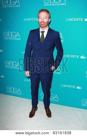 LOS ANGELES - FEB 17:  Jesse Tyler Ferguson at the 17th Costume Designers Guild Awards at a Beverly Hilton Hotel on February 17, 2015 in Beverly Hills, CA