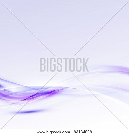 Bright Modern Abstract Purple Certificate Template