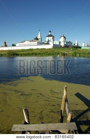 Bobrenev Monastery In Kolomna, Russia
