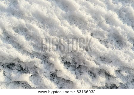 Rough Texture Bumpy Snow