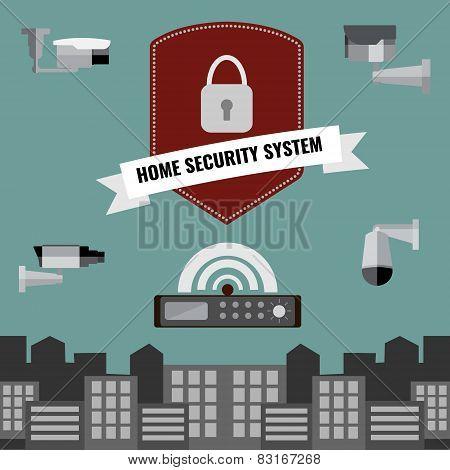 Home Security Cctv Cam System Design