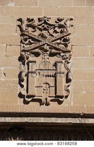 Town hall coat of arms, Baeza.