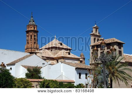 Town buildings, Antequera.
