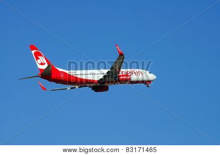 Air Berlin Boeing 737.