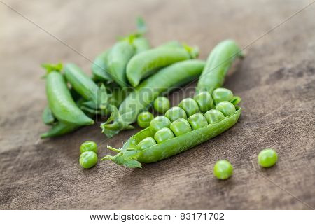 Fresh Homemade Peas