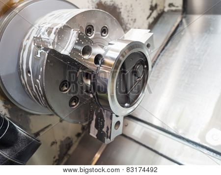 Operator Machining Mold And Die For Automotive Parts