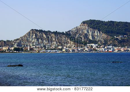 haven and town Zakynthos
