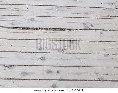Wooden Boards With Large Gaps