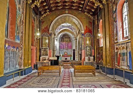 Interior Of The Armenian Cathedral