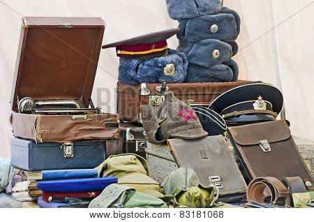 Military Hats And Antiques
