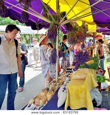Provence, France - Street Market