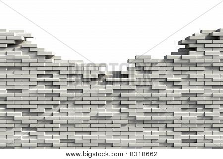 Incomplete Brick Wall