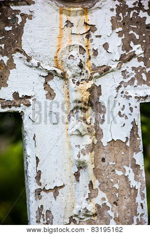 Old Crucifix Gravestone
