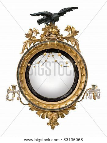 Mirror Round Antique