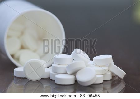 Pills On The Table