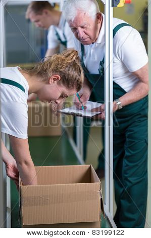 Checking The Box