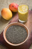 image of salvia  - Chia seeds  - JPG