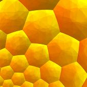 picture of honey bee hive  - Abstract fractal background - JPG