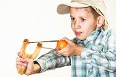picture of squinting  - Children upbringing problems - JPG