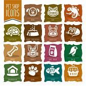 pic of bag-of-dog-food  - Quality set of icons related to pets - JPG
