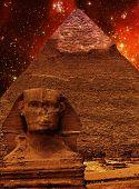 stock photo of the great pyramids  - Photo - JPG