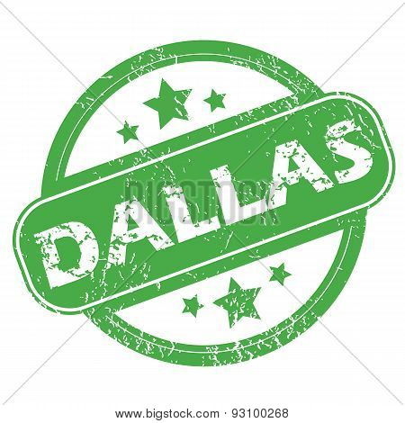 Dallas green stamp