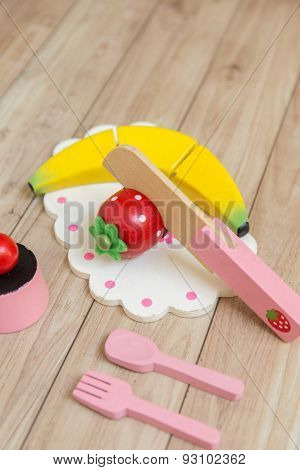 Food Preparation Toy Set For Kids