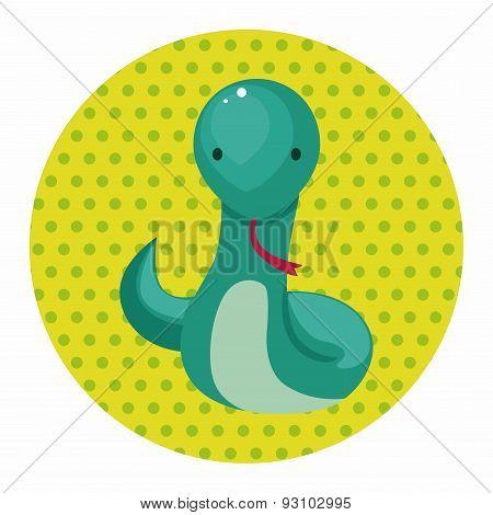 Chinese Zodiac Snake Theme Elements