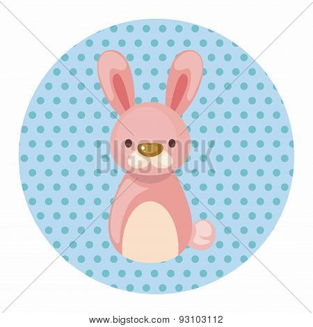 Chinese Zodiac Rabbit Theme Elements