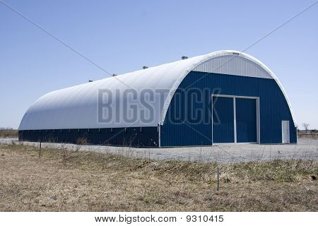 Large Tarp Barn