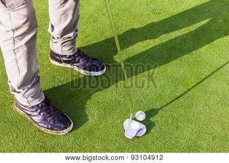 Putter On The Green